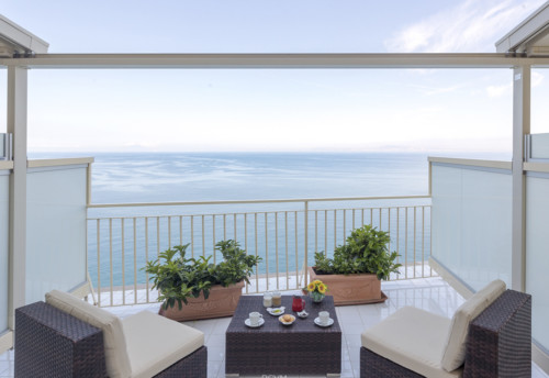 Sea View Room with Terrace